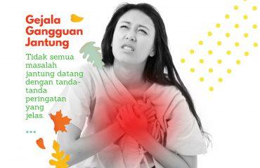 gejala gangguan jantung