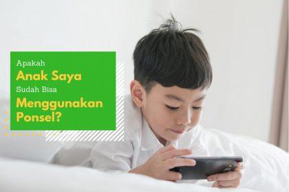 anak pakai smartphone